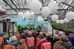 optreden in de Hortus Nijmegen, 10-02-2019 (foto Ineke van Middelkoop)